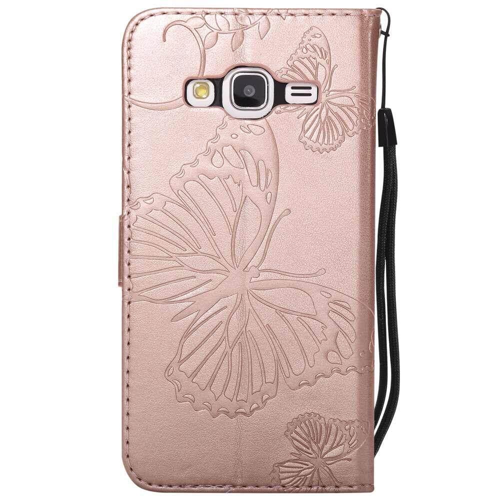 Case untuk Samsung Galaxy J3 2016 J310 PU .