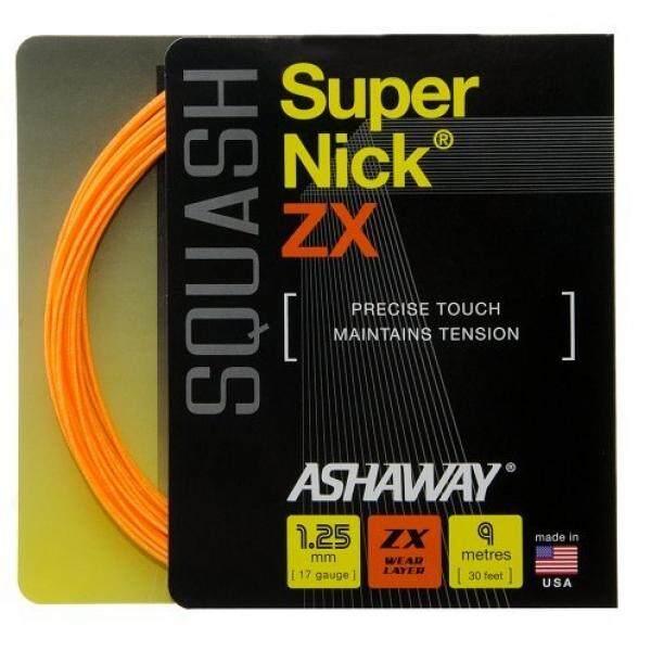 Hình ảnh Ashaway Supernick ZX squash string (1 set) 17 Gauge
