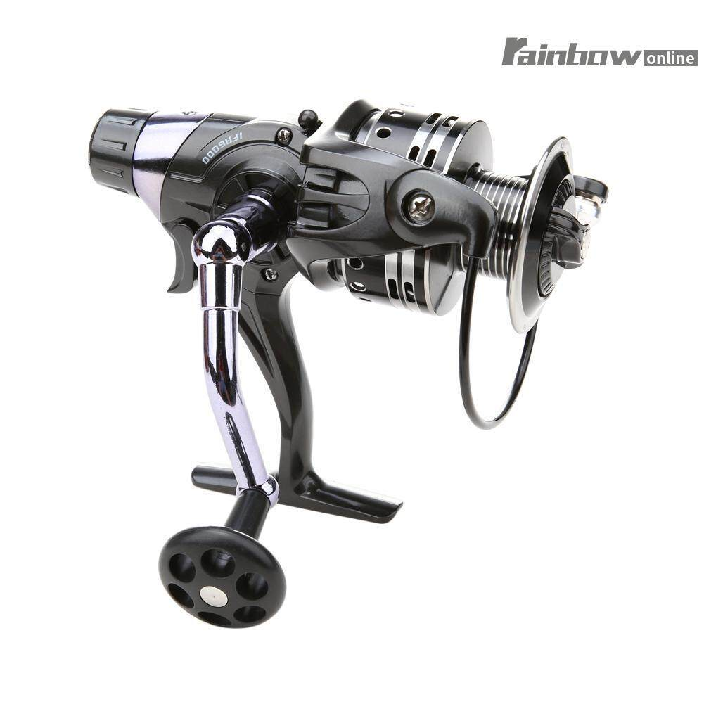 11+1BB Dual Brake System Bait Casting Fishing Reel for Carp Sea Fishing(Black)-3000 - intl