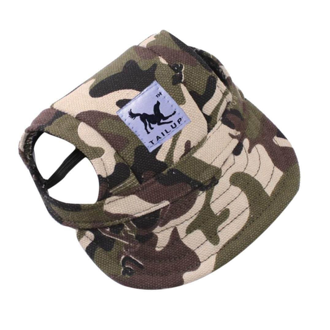 online store 4c461 961cf (Medium, G) - Sumen Summer Canvas Lovely Hat Puppy Visors Caps For Small