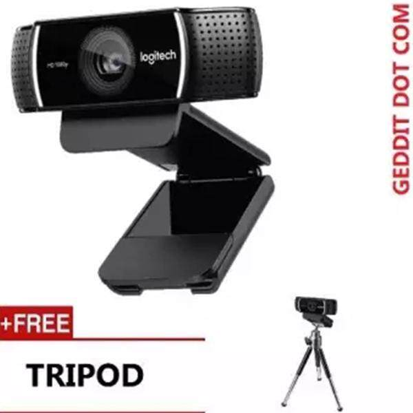 With tripod 100% Original Logitech C922 PRO Autofocus Webcam Built-in Microphone Full HD Anchor Camera