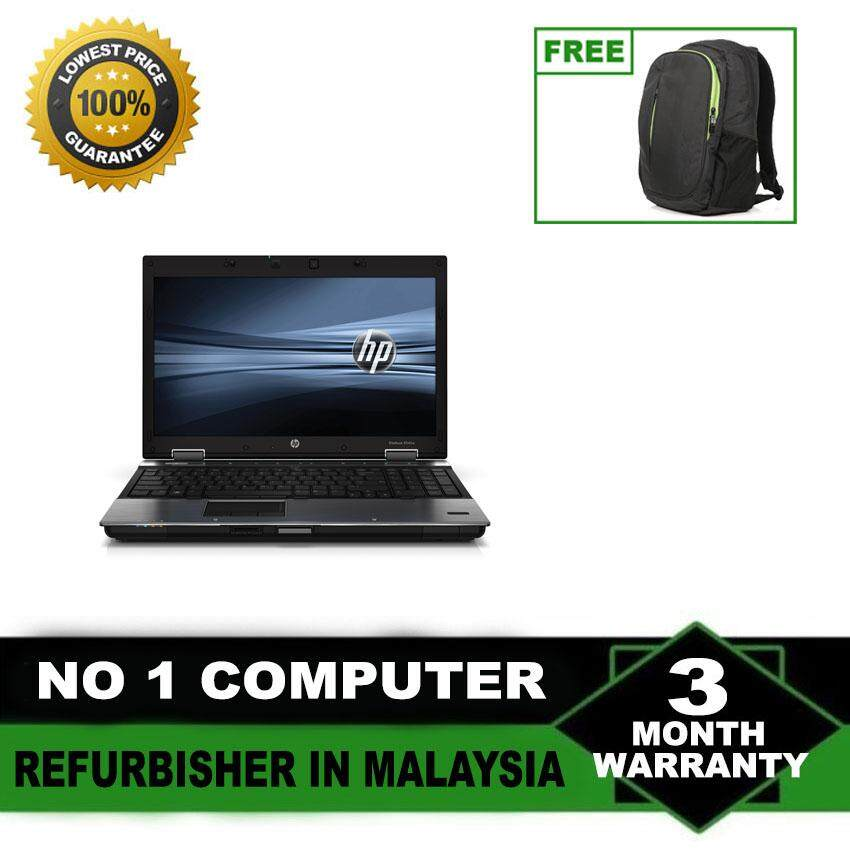 (Refurbished Notebook) HP Elitebook 8440p 14 LCD Laptop / Intel Core i5-520m / 250GB Hard Disk / 4GB Ram / Windows 7 Malaysia