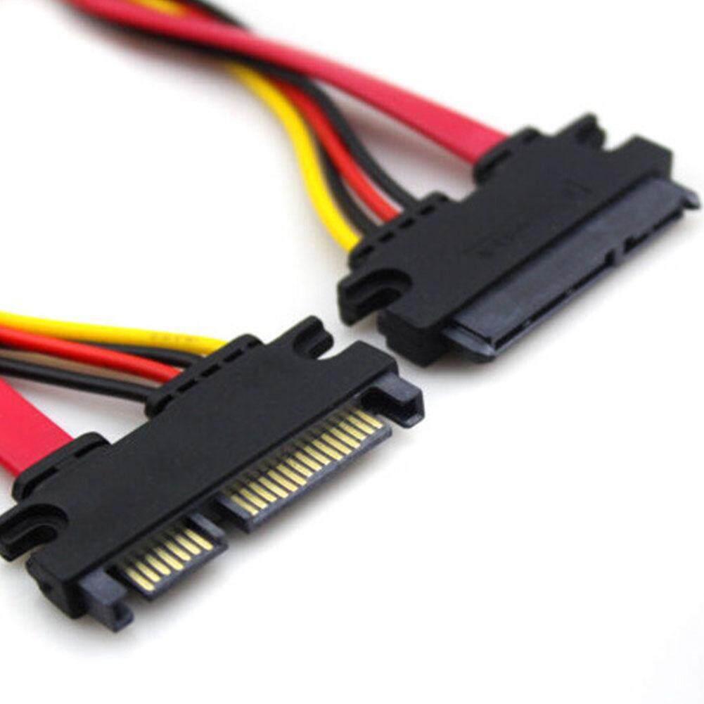 Giá 30 cm 7 + 15 Pin Serial ATA Dữ Liệu SATA Điện Combo Cáp Nối Dài Cổng Kết Nối Conterver Cứng Dây Kết Nối
