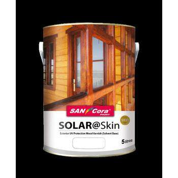 SANCORA SOLAR SKIN WOOD VARNISH / SHELLAC PAINT (1LIT)