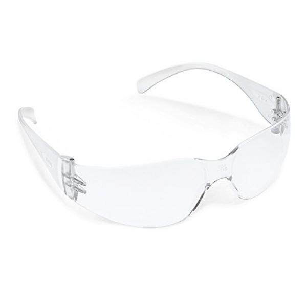 Igottech Igottech Kacamata Safety dengan Bingkai Cerah dan Anti Kabut, Anti Gores Lensa Perisai Samping, Perlindungan UV gaya Kacamata Pelindung (3 Pack)-Intl