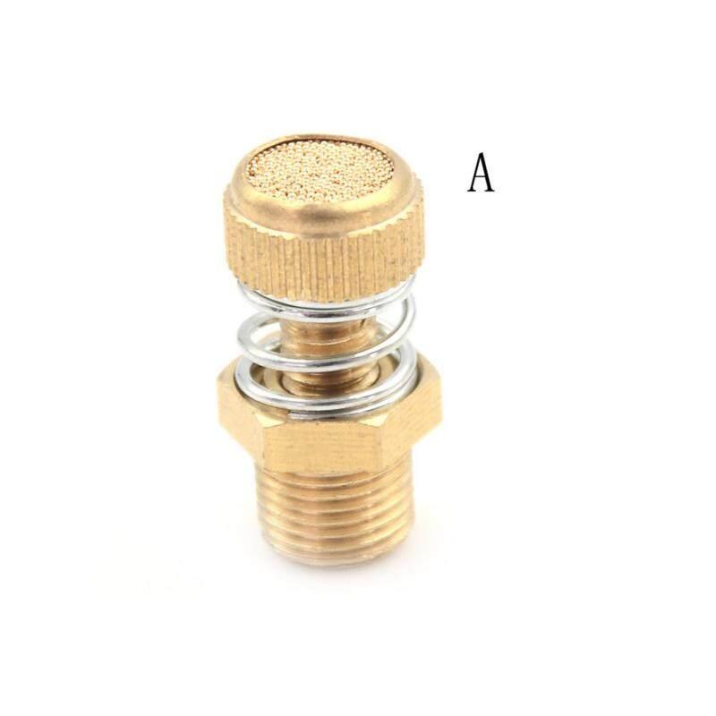 Bảng giá Pneumatic Brass Spring Flow Control Silencer Air Exhaust Muffler Fitting Type:A - intl