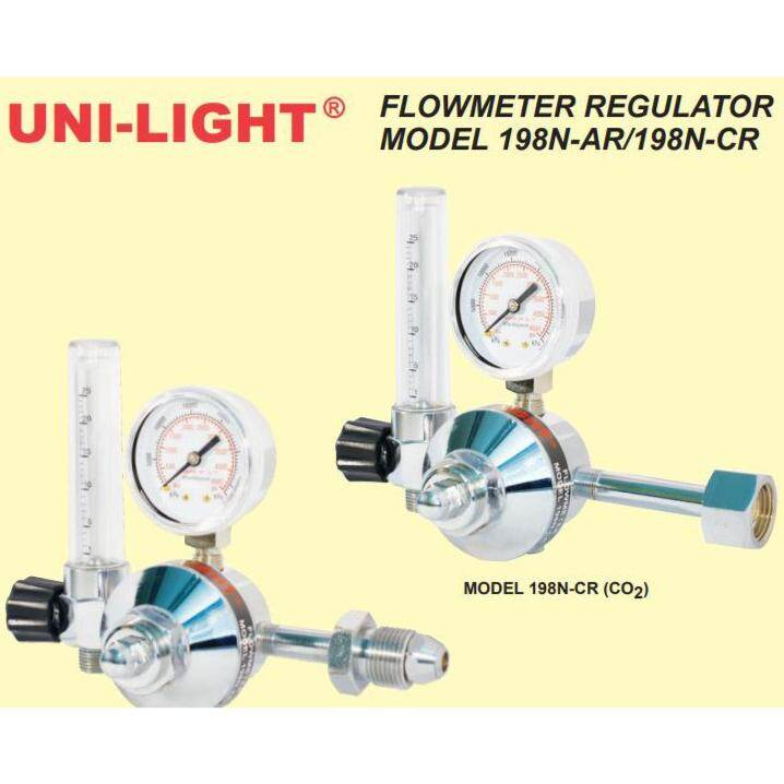 UNI-LIGHT FLOWMETER REGULATOR (MODEL:198N)