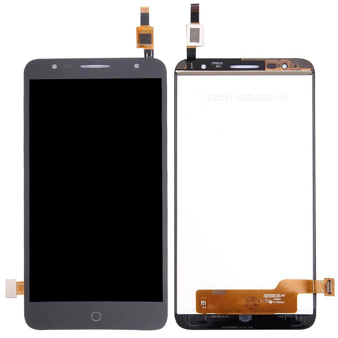 Layar LCD dan Digitizer Penuh Perakitan untuk Alcatel Pop 4 Plus/5056/5056E/5056 T/5056A/ 5056D (Hitam)