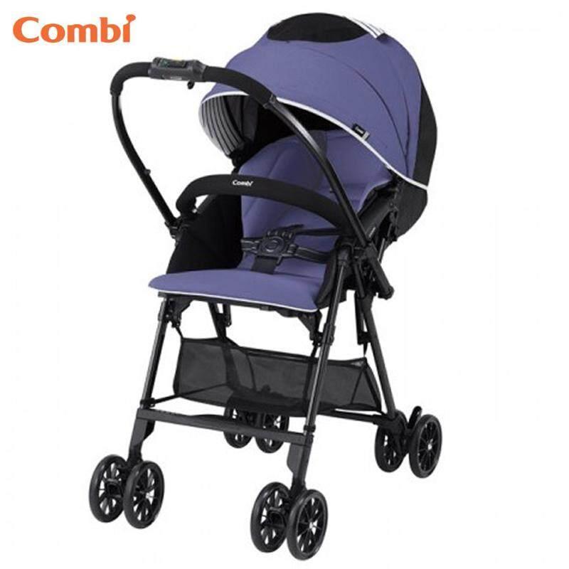 Combi Mechacal Handy S Sea Purple Super Light Weight Comfortable Baby Stroller