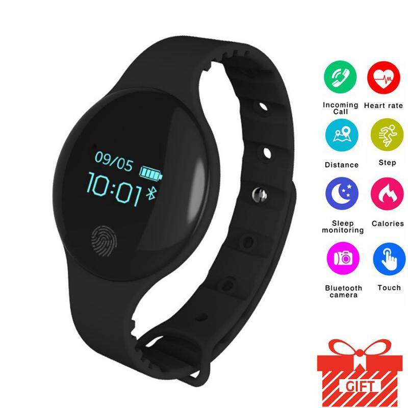 H8 Bluetooth Smart Wristband Fitness Bracelet Pedometer Cicret Bracelet Watch Women Smartband Activity Tracker for Phone