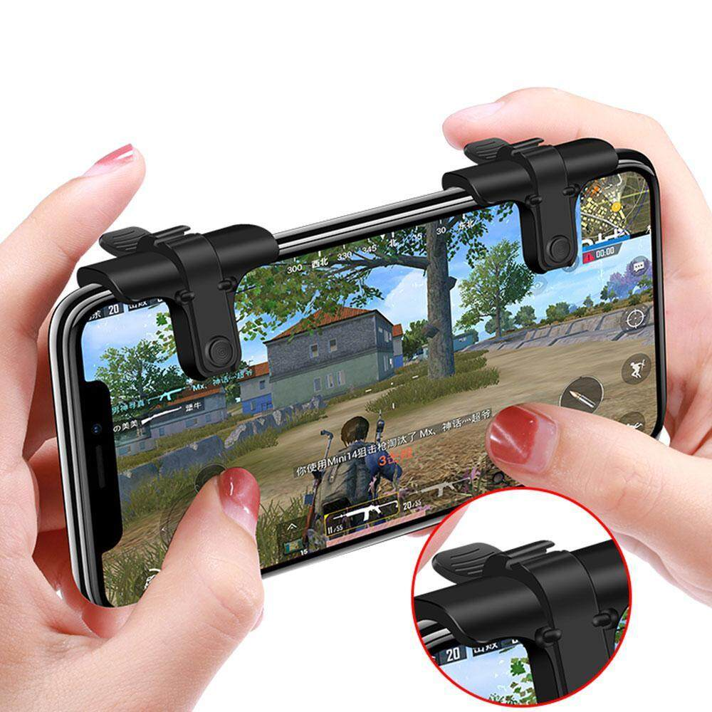 leegoal Mobile Phone Games Hot Keys Trigger Controller Sniper Fire Button For L1R1 PUBG - intl
