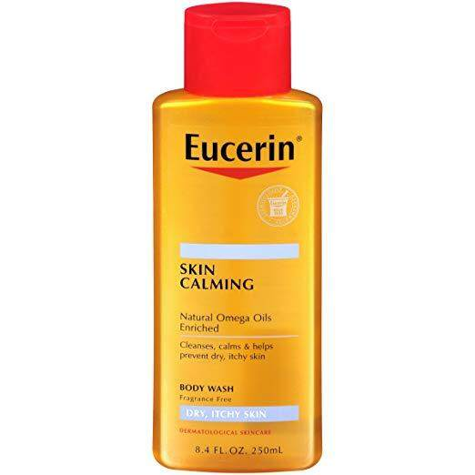 Eucerin Skin Calming Dry Skin Body Wash 8.4 Fluid Ounce