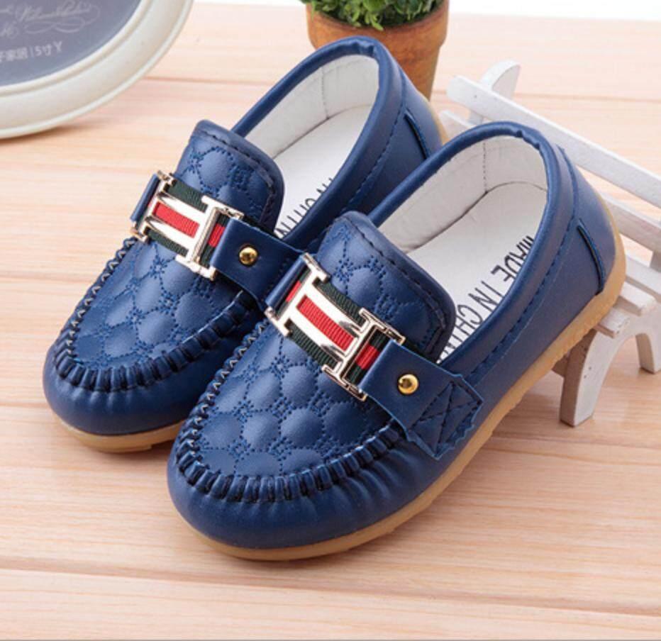 Anak-anak Peas Sepatu Sepatu Anak Anak Tendon Lembut Anti Selip Sepatu Bayi Longgar-Internasional - 2