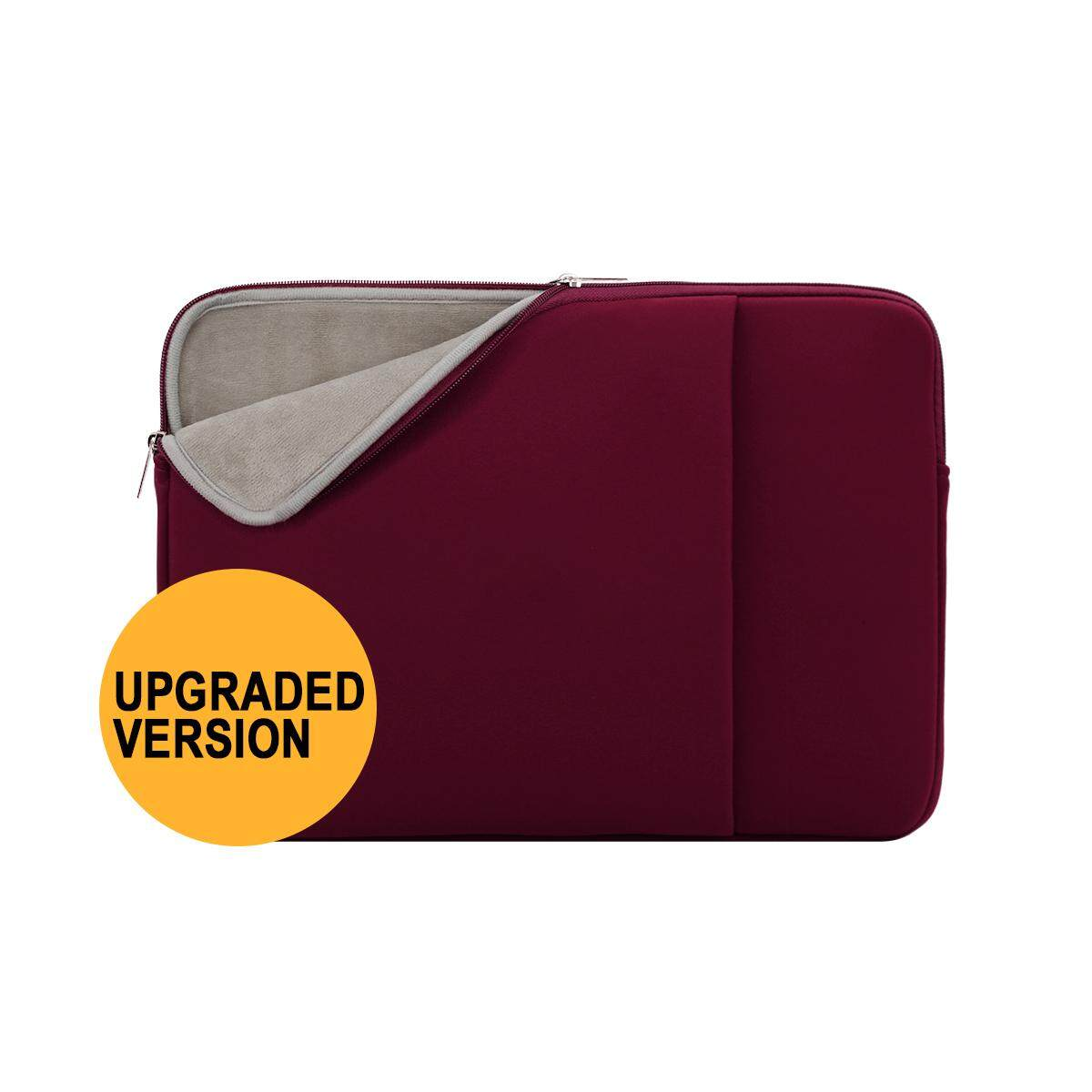 aa2537a0c7af 14 Inch Laptop Pouch Sleeve Front Pocket Soft Padded Carrying Bag