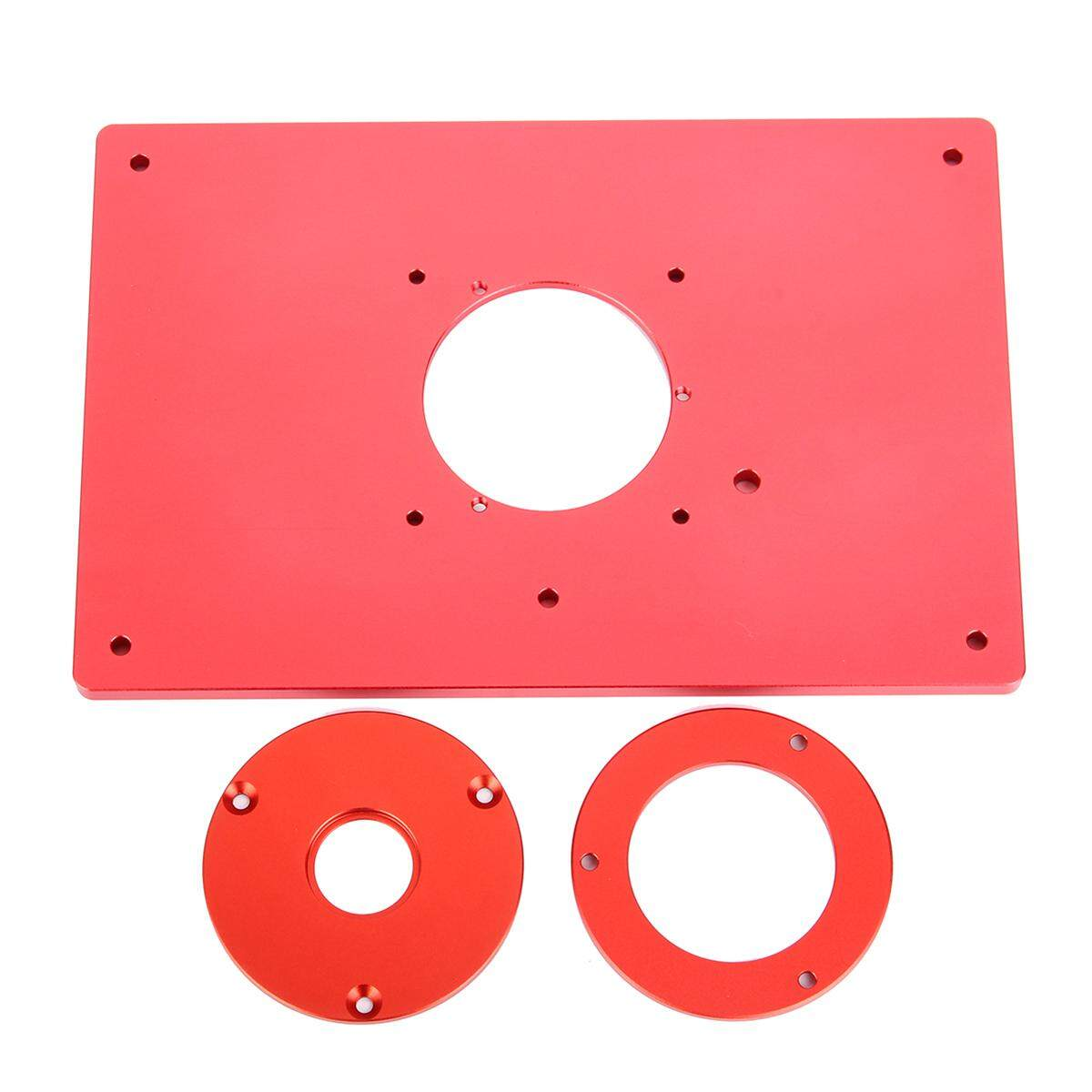 Universal Router Table Insert Plate For Woodworking Engraving Machine 200*300*10MM - intl