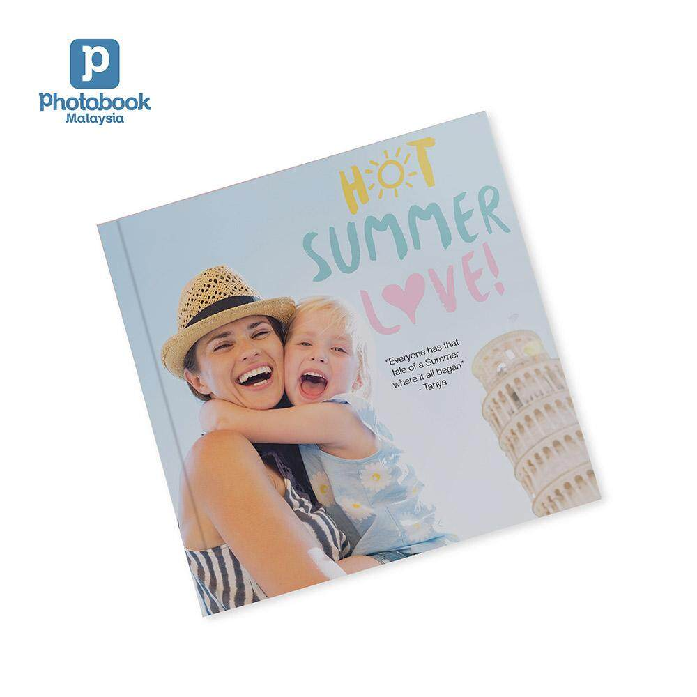 """Photobook Malaysia 8"""" x 8"""" Small Square Softcover Photo Book, 40 Pages"""