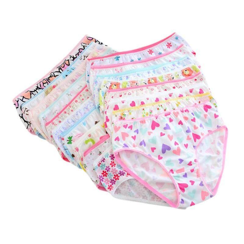 Nơi bán SunnyShop 12 Cái/Bộ Trẻ Em Bé Gái Quần Lót Cotton Quần Đùi Hoạt Hình Dễ Thương Quần Lót Quần Lót