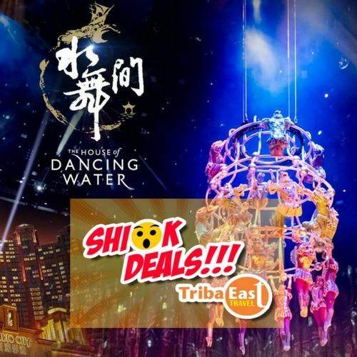 Macao Dancing Water Show-Zone C-8.00pm (Adult)