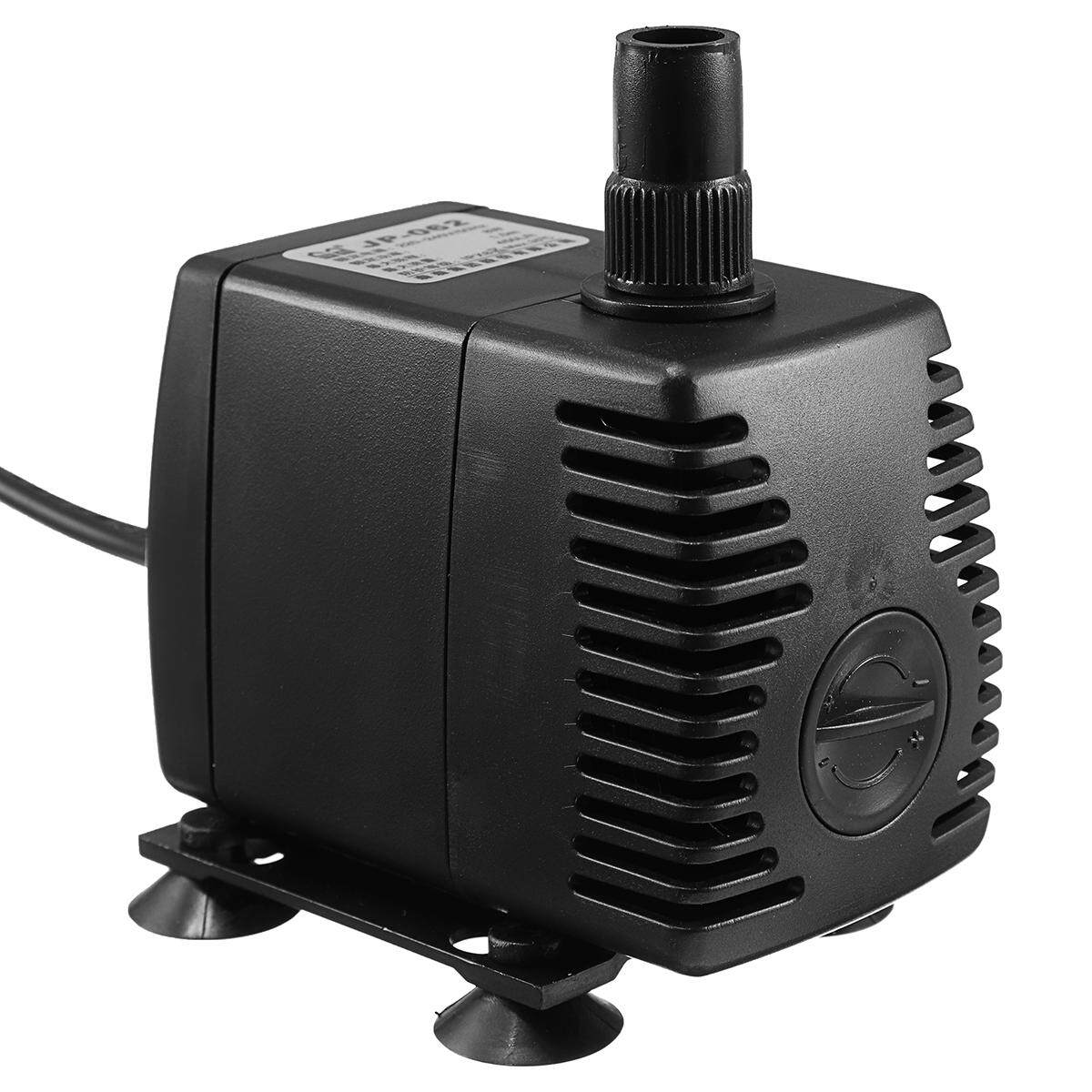 8 W 450L/H Pompa Celup Akuarium Tangki Ikan Powerhead Filter & Sucker-Intl - 4