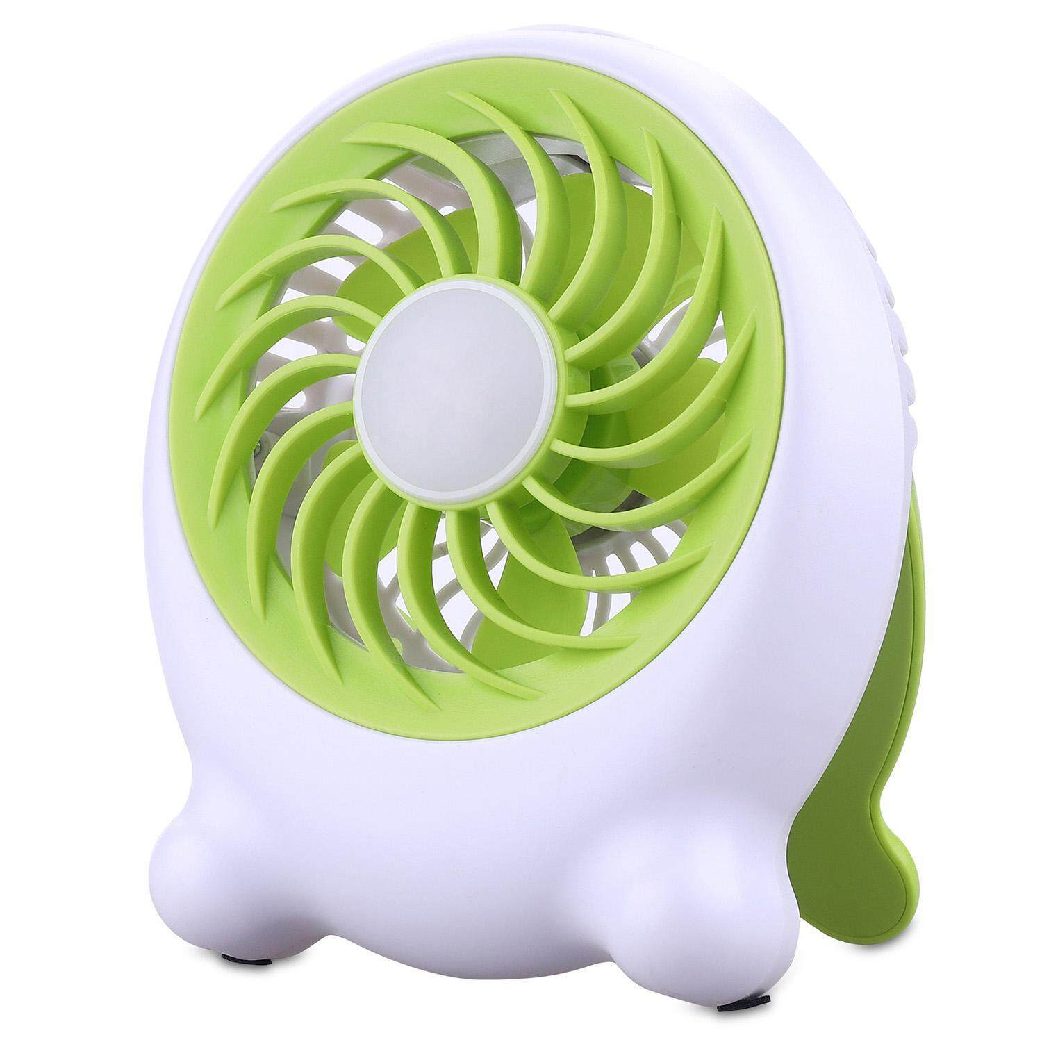 OrzBuy Multifunctional Outdoor Portable LED Lighting Mini Fan, USB Summer Mini Student Dormitory Fan Rechargeable Hand Carry - intl