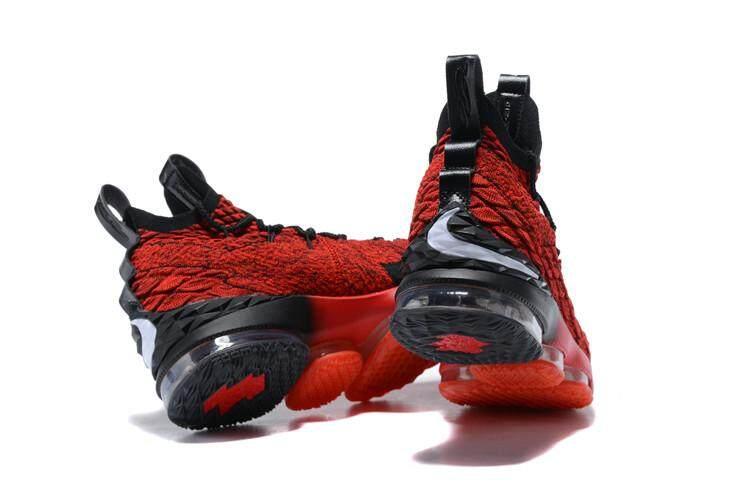 Nike Asli LeBron James LeBron XV LeBron 15 EP Mid Pria Top Basketaball  Sepatu LBJ ( d68ff315ce