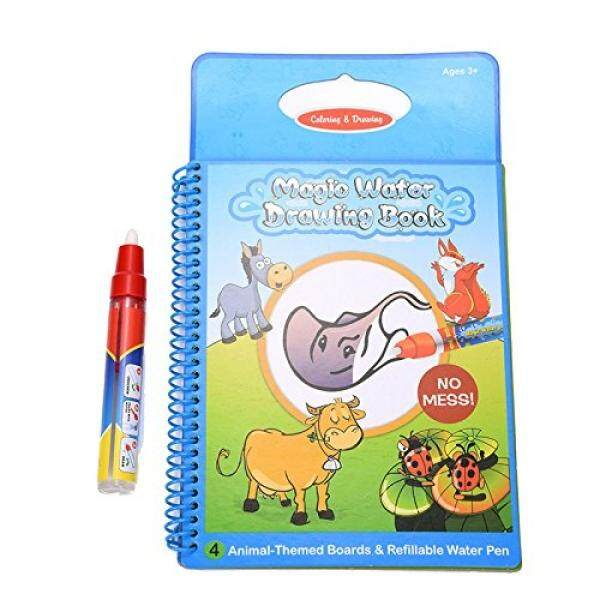 Tango Animal Water water Coloring Book with water pen for Kids Water Activity Book Travel Doodle Mat Childrens Drawing Toys Book toy gift for toddlers children