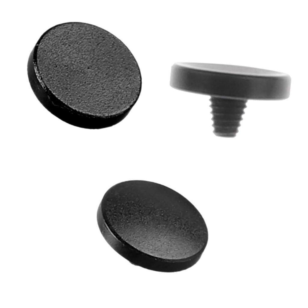 Miracle Shining 3Pcs Shutter Release Button For Leica Fujifilm x100 X10 X-Pro1 X-E1 Black