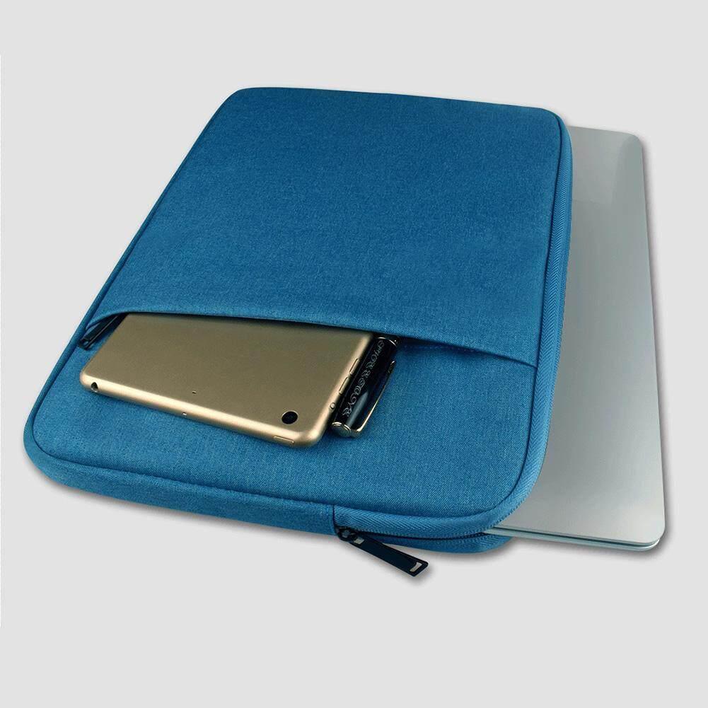 WF Sederhana Warna Solid Laptop Penyimpanan Notebook Tas Kantung Perlindungan Casing untuk MacBook Air 11 13 12 15 Pro 13.3/15.6 Inch Notebook