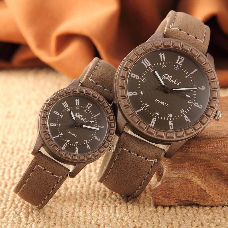 Fashion New Quartz Watch Casual Men Couple Watches Retro Wristwatch