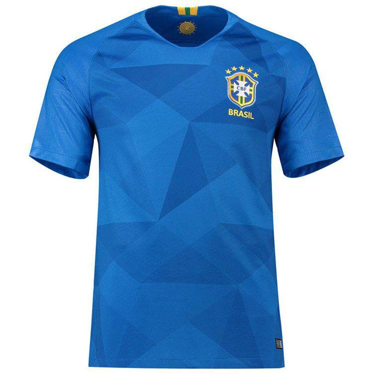 8dae749f0 ... usa brazil jersey team 2018 world cup football uniform short sleeved t  shirt badac af005