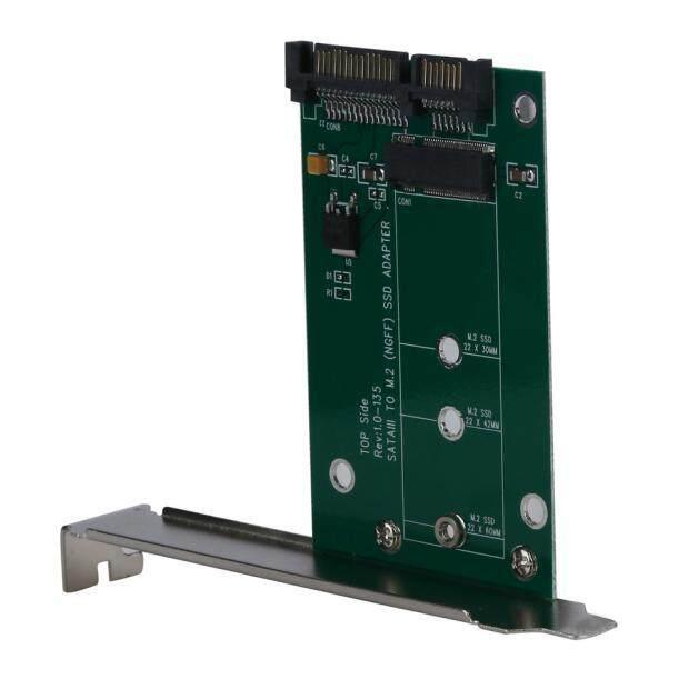 M.2 SSD (NGFF) Ke SATAIII SATA-3 Kartu Adaptor dengan Penuh & Low Profil-Intl