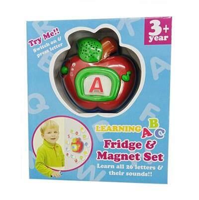 Learning ABC Fridge & Magnet Gift Set