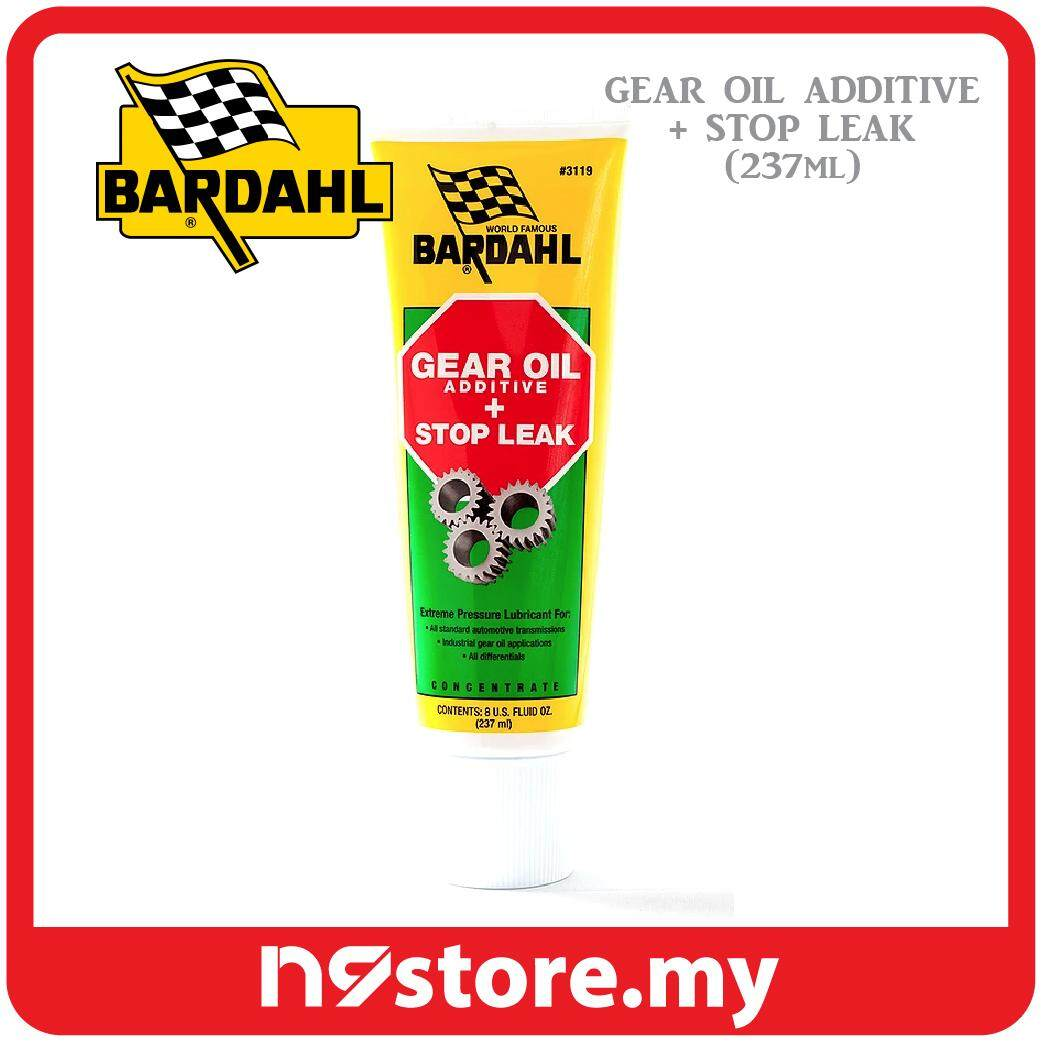 Bardahl Gear Oil Additive + Stop Leak Contains Seal Conditioner (237ml)
