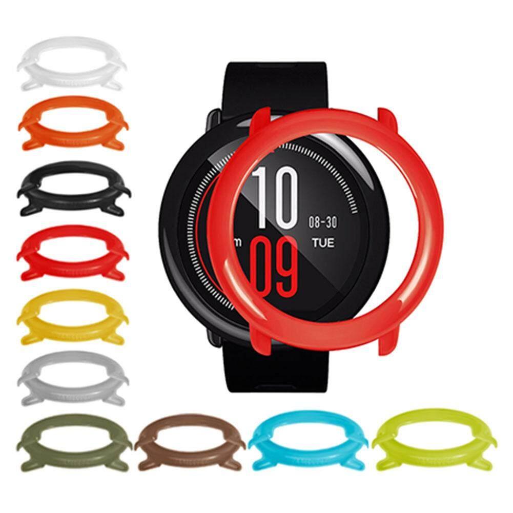 Detail Gambar YBC Smartwatch Fashion Bingkai Tipis Sarung Pelindung PC Melindungi Shell untuk Huami Amazfit Smartwatch Terbaru