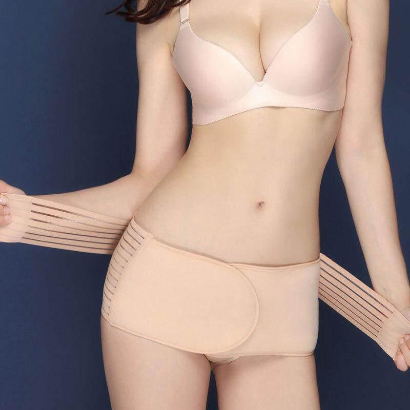 หลังคลอดที่รัดหน้าท้อง Belly Slim ชุดชั้นในเน้นรูปร่างเข็มขัดซัพพอร์ทแผ่นรัดพุง Girdle - Intl.