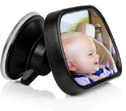 Adjustable Car Rear Seat View Mirror Child Safety With Clip Sucker