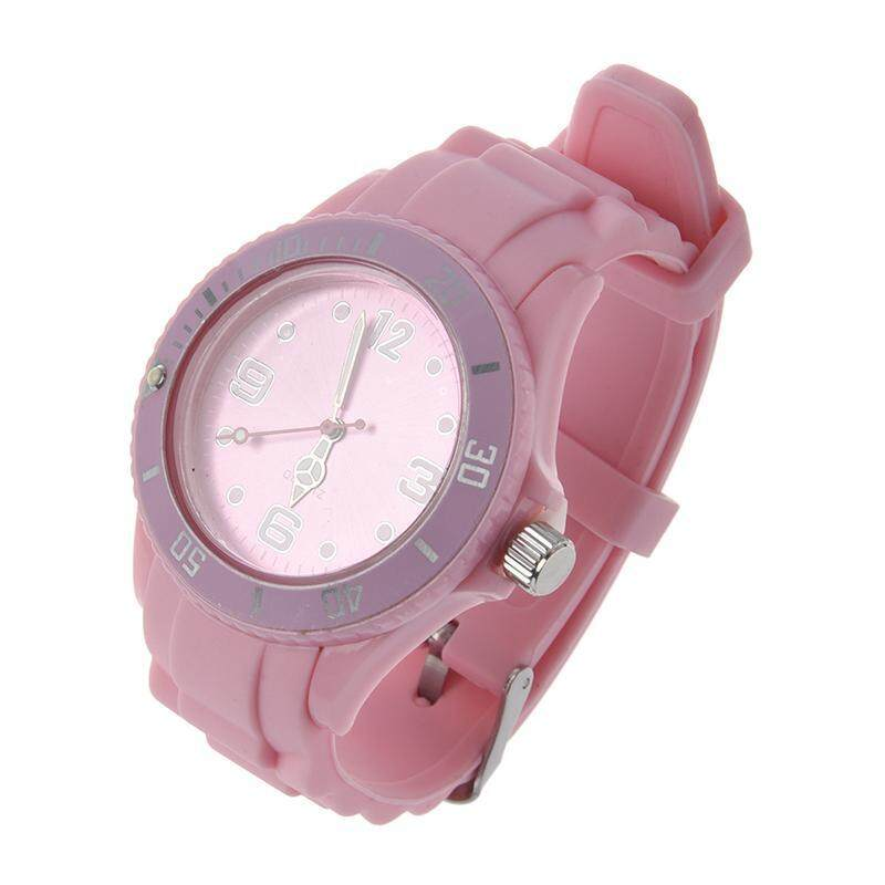 Silicon Ice Stylish Classic Wrist Watch For Women and Man Malaysia