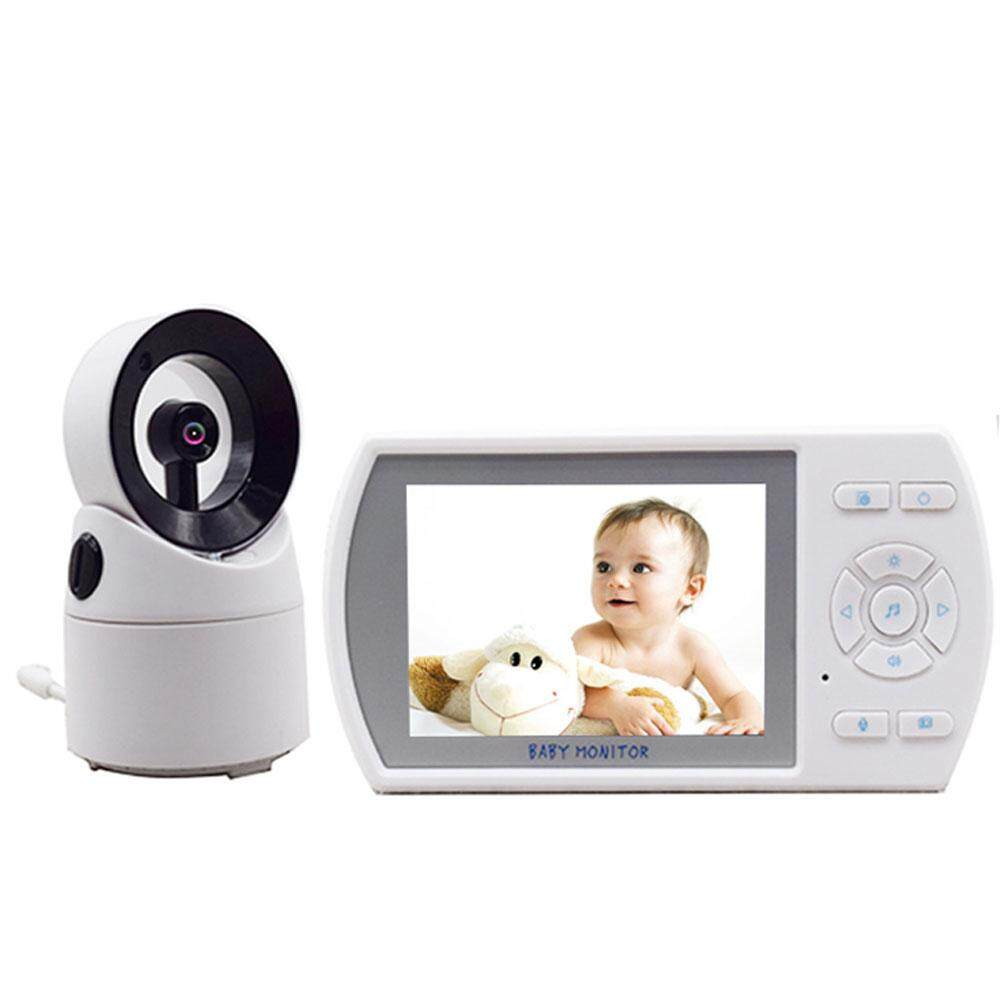 Redcolourful 3.5 Inches Rotatable Wireless Infant Monitor Real-time Baby Care Monitor US Regulation