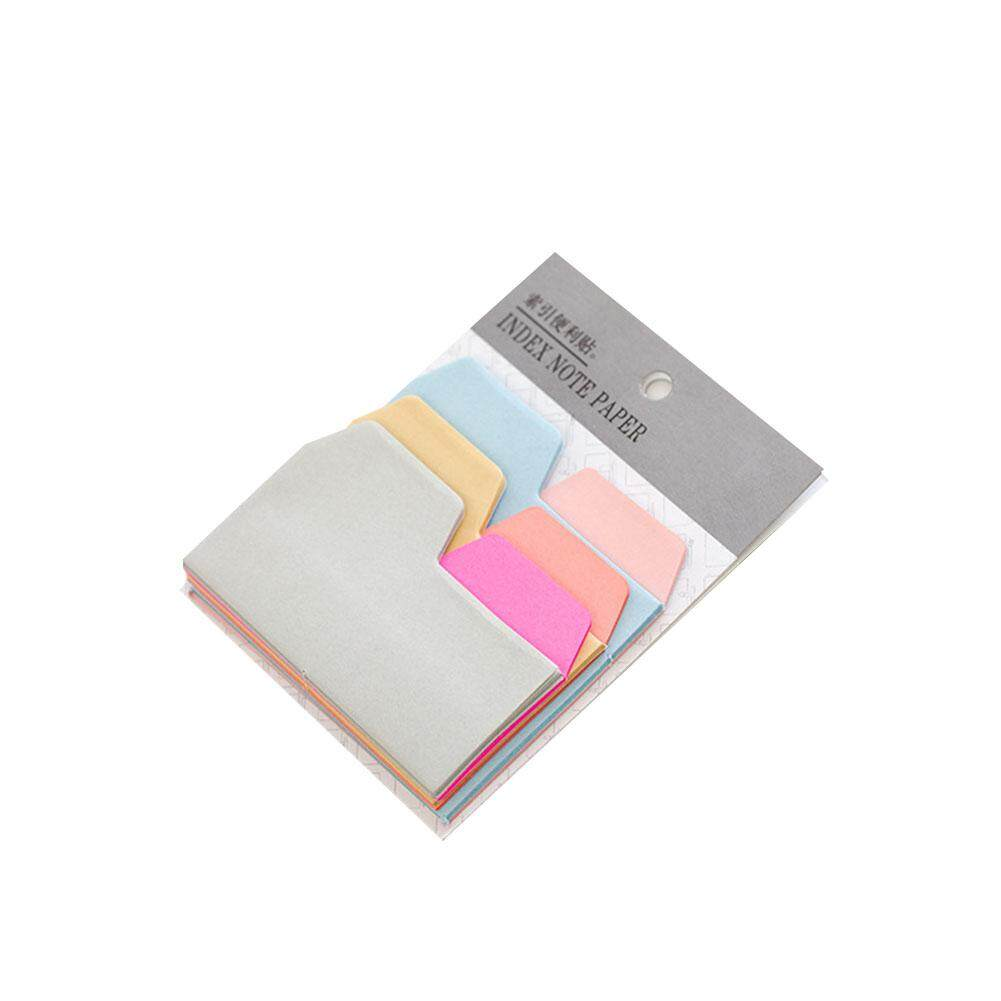 Memo Pads 100pcs Mini Paper N Times Sticky Notes Index Tag Memo Pad Label Tag Bookmark Stickers Sign Planner Message Stationery Supplies Notebooks & Writing Pads