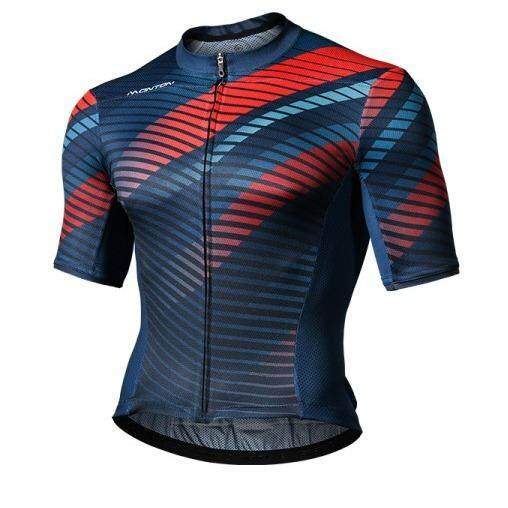 MONTON MENS CYCLING JERSEY LIFESTYLE MUSTANG