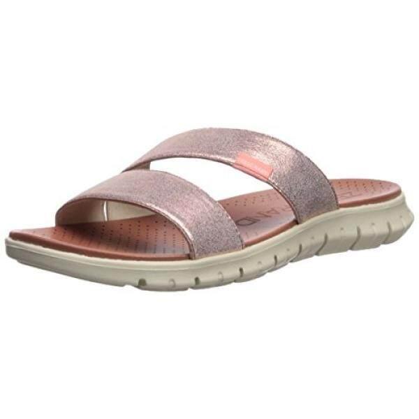 Cole Haan Womens Zerogrand 2 Strap Flat Sandal, Rose Gold, 8 B US - intl