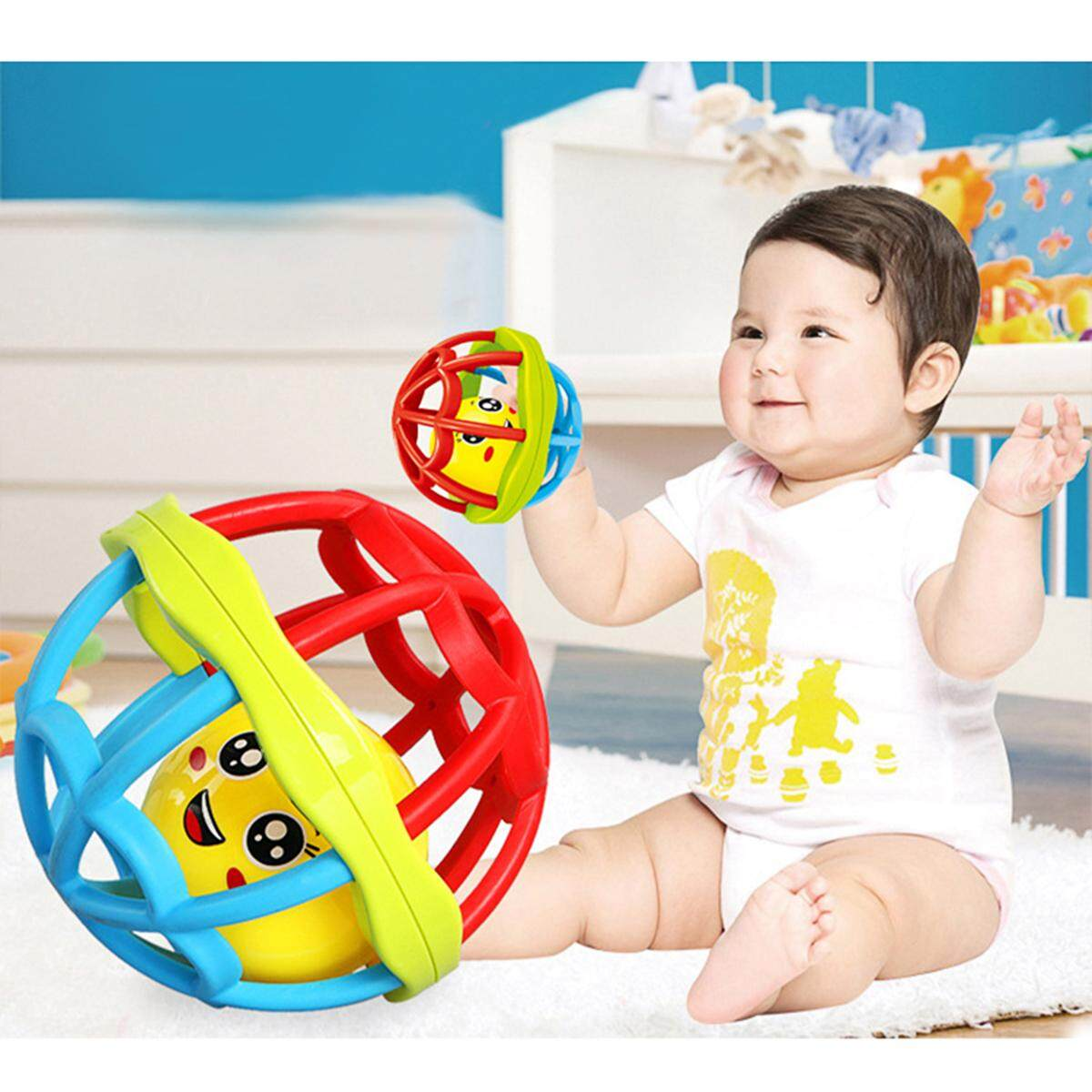 Baby & Toddler Toys Lovely Animal Shape Hand Baby Rattles Mobiles Baby Toys Develop Intelligence Hand Grasping Rattle Educational Toy Random Color