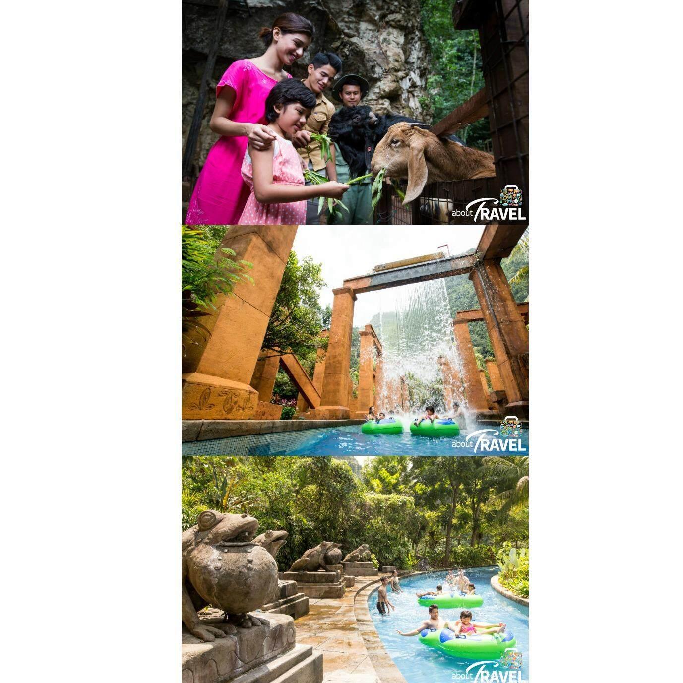 Ipoh : Lost World of Tambun Water Theme Park + Hot Spring - Child [Non Malaysian]
