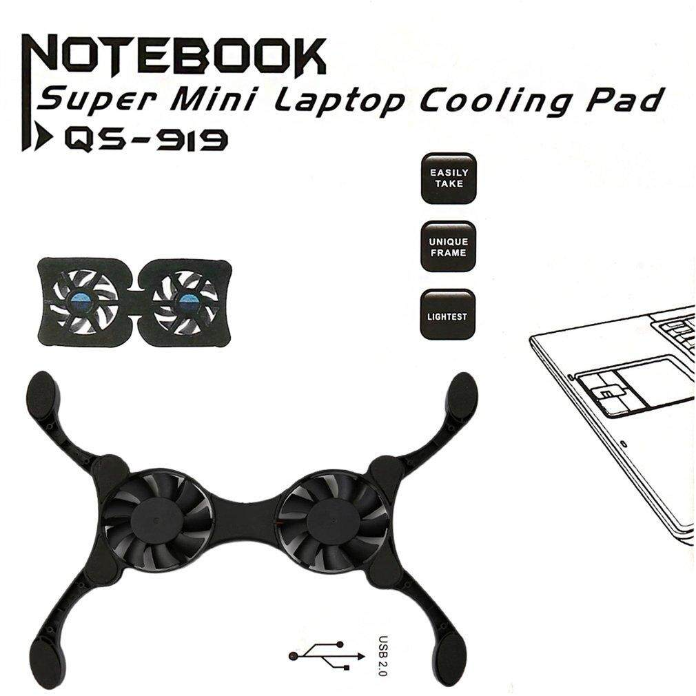USB Port Mini Octopus Notebook Fan Cooler Cooling Pad For 14 INCH Laptop - intl
