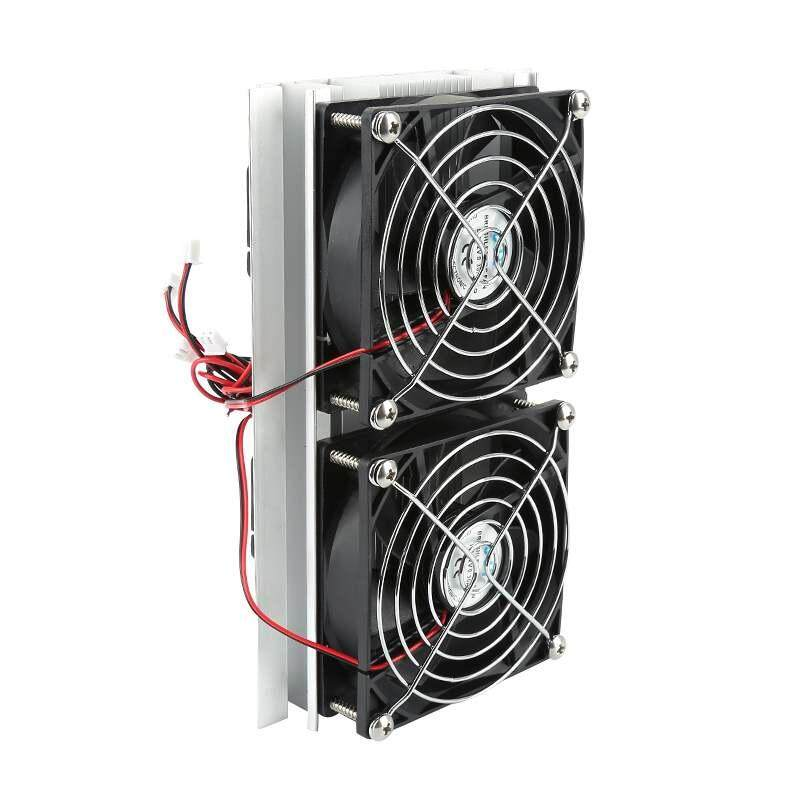 Sway High Quality Refrigeration Thermoelectric Peltier Double Fan Cooling System Kit Cooler