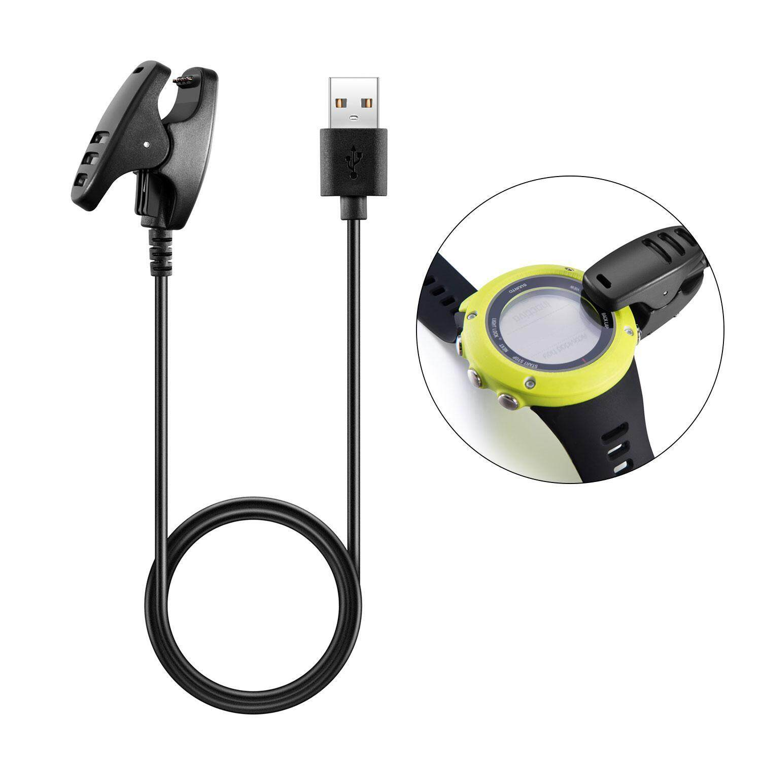 Oxoqo Charger For Suunto Ambit , Power Cable For Suunto Ambit/ambit2/ambit2 S/ambit 3 Run Sports Watch And Gps Track Pod Watch Replacement Usb Charge Charging Cable For Suunto By Oxoqo.