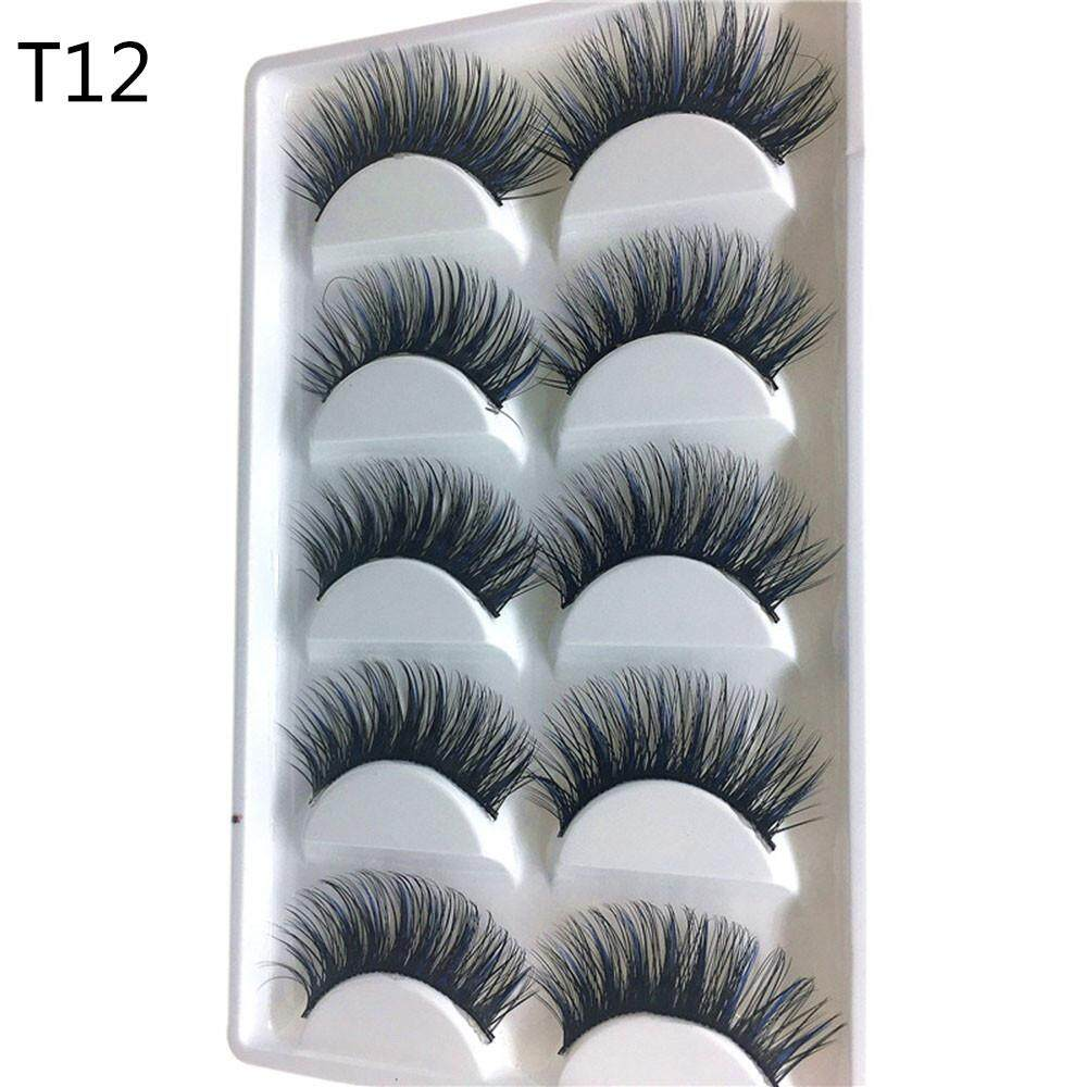 Vernonstore_ Luxury 3D False Lashes Fluffy Strip Eyelashes Long Natural Party Philippines