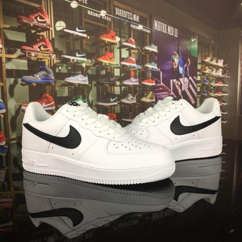 Original Nike Air Force 1 AF1 Air Force One Lelaki dan Wanita Kekasih Little Star Shoes