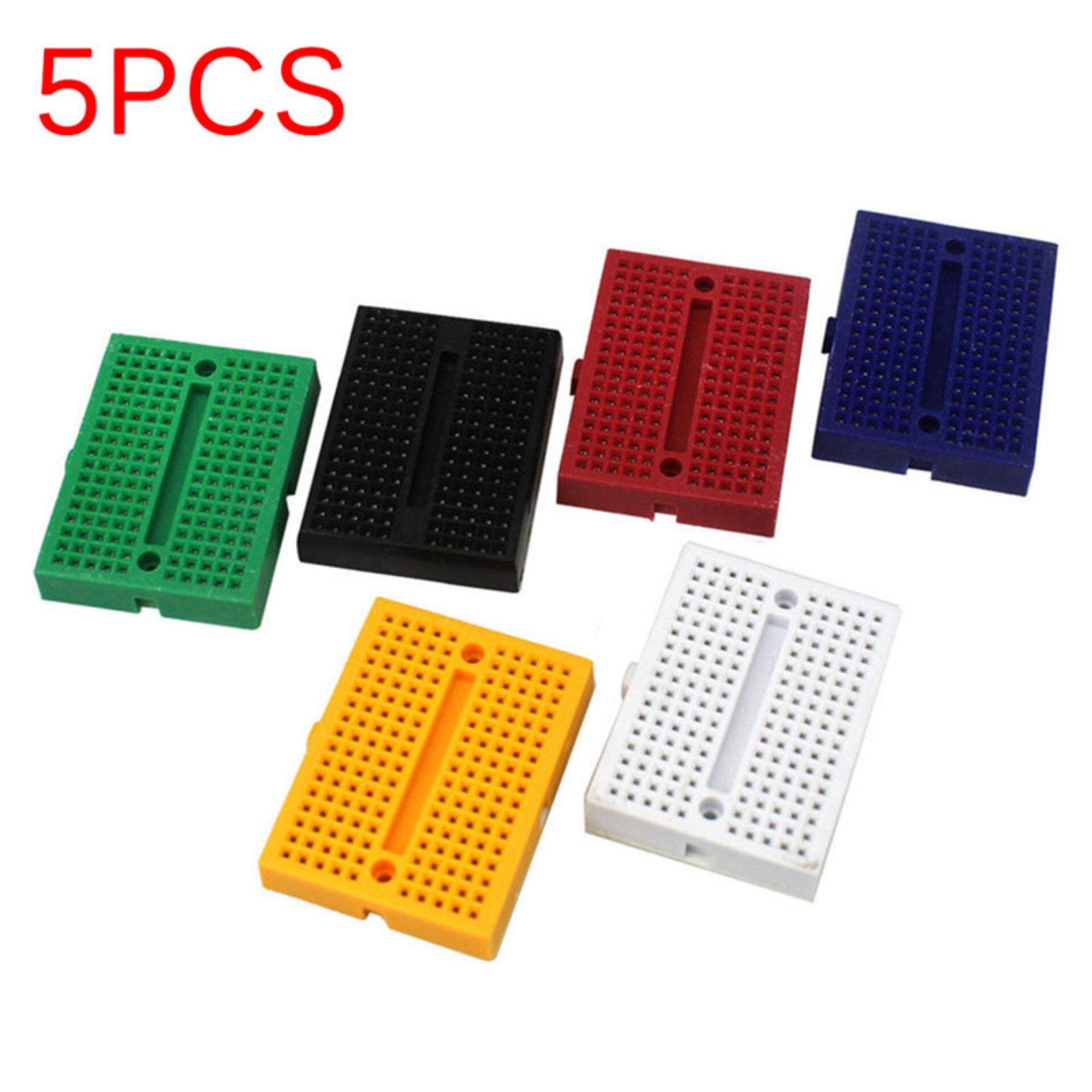 Features Big Family Solderless Prototype Pcb Breadboard 830 Points With 400 Tie And Matching Syb 170 Mini Board Plates Reusable Multicolor