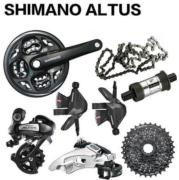 3d4b1b7e4dd Shimano ALTUS M310 3x8 Speed 24s Groupset MTB Bike Bicycle Crank Derailleur  Shifter Cassette Chain 7PCS